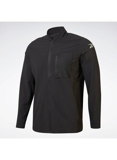Reebok Erkek Siyah One Serıes Runnıng Hero  Sweatshirt FJ4012 Siyah